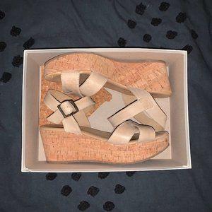 Cordani Strappy Wedges Wedge Heels